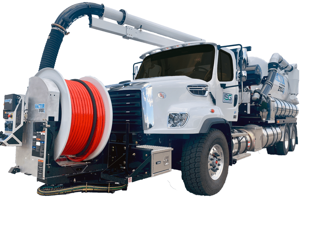 Vactor 2100i Front View