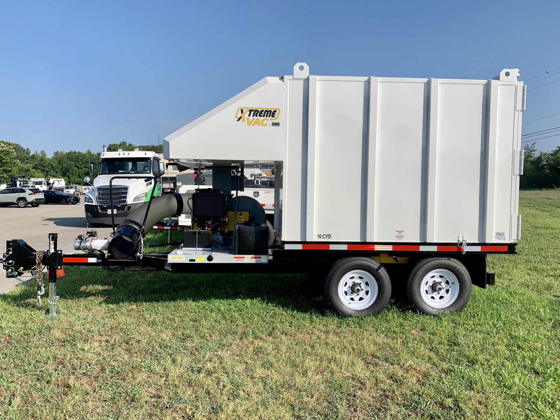 XtremeVac Debris Trailer In Stock and For Sale