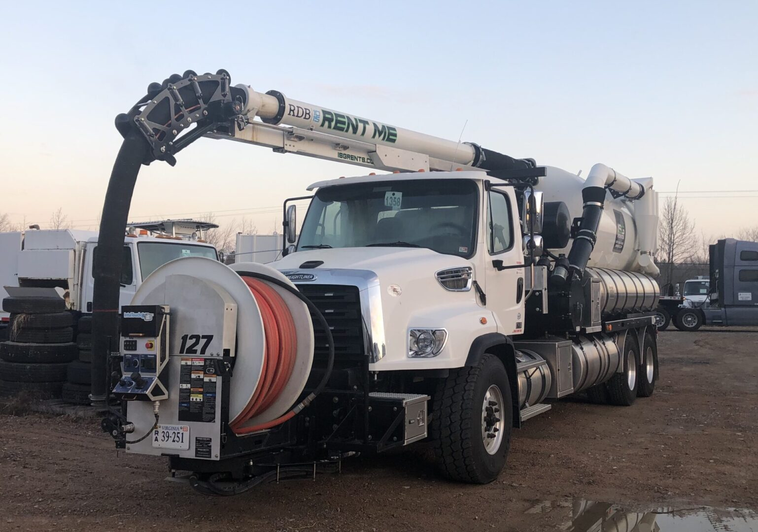 A used vactor 2100 for sale